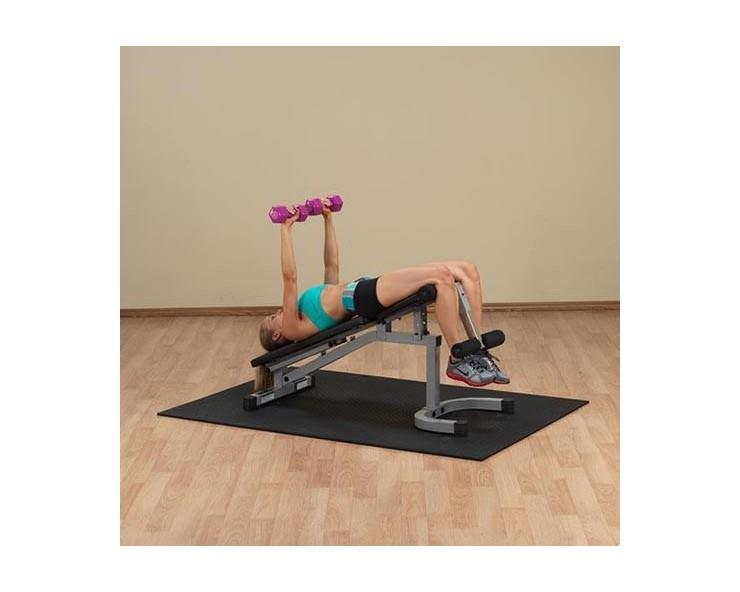 Banc musculatio body solid PFID130X développé décliné haltères