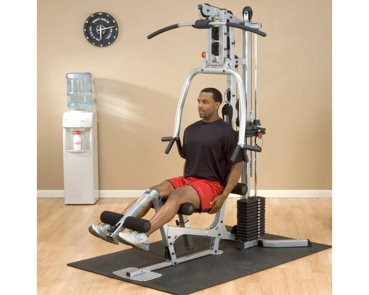 Appareil de musculation Home GYM BODY SOLID BSG10X quadriceps