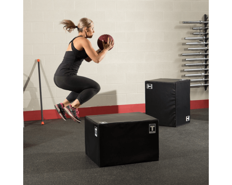 Soft Box de Cross Training Plyo BODY SOLID BSTSPBOX