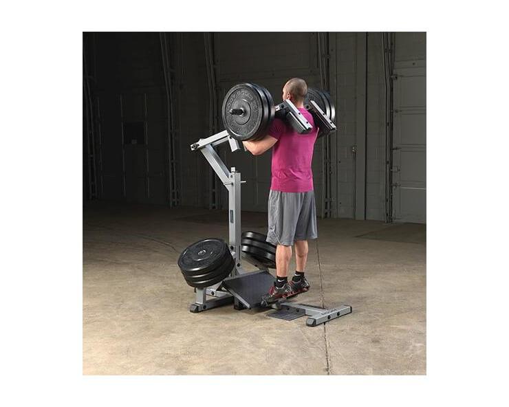 Machine a Squat et Mollets BODY SOLID GSCL360