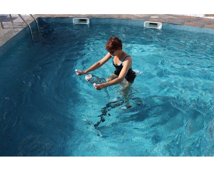 enceinte flottante cross call pour aquabike
