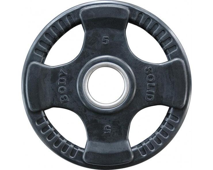 Pack débutants de rubber disques olympiques BODY SOLID ORTK (30kg)