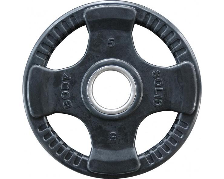 Pack confirmés de rubber disques olympiques BODY SOLID ORTK (60kg)