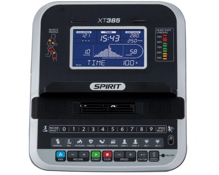 acheter tapis de course spirit fitness XT385