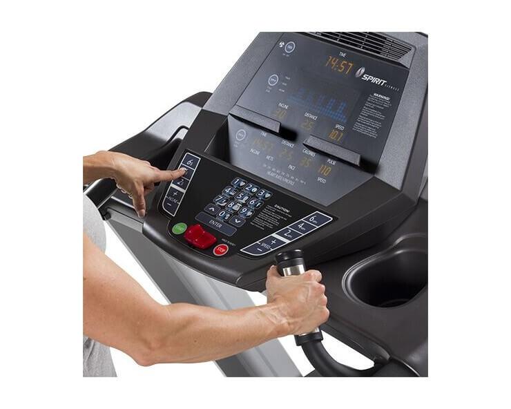 achat tapis de course professionnel spirit fitness CT800