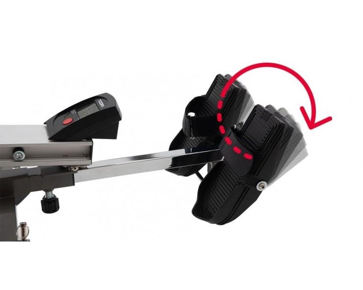 rameur tirage scandinave toorx rower master