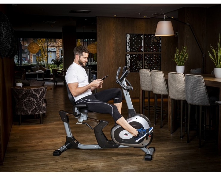 velo semi allongé artic comfort program bh fitness