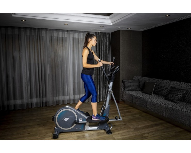 vélo elliptique pliable bh fitness easy step dual