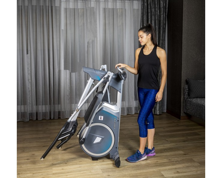 velo elliptique pliable easy step dual bh fitness