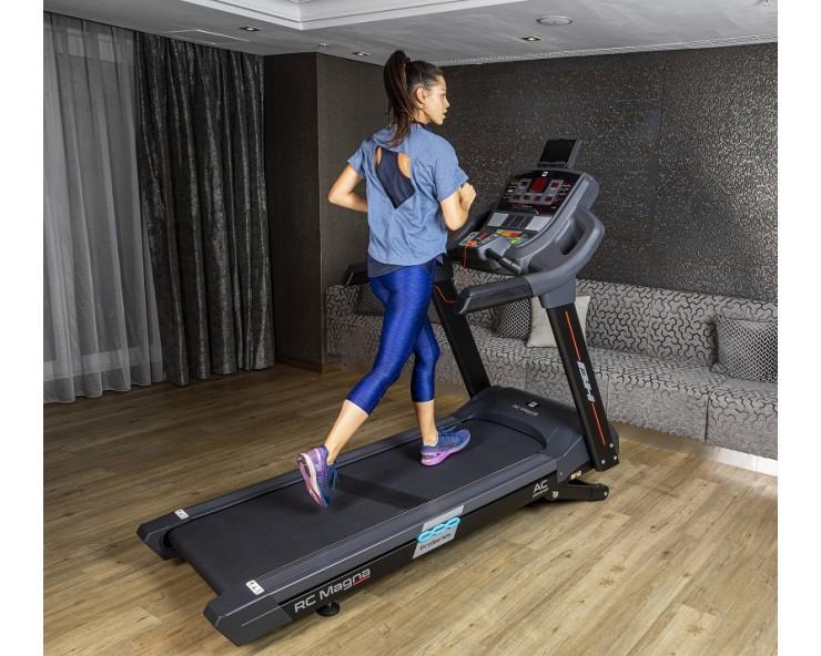tapis de course professionnel bh fitness i magna rc