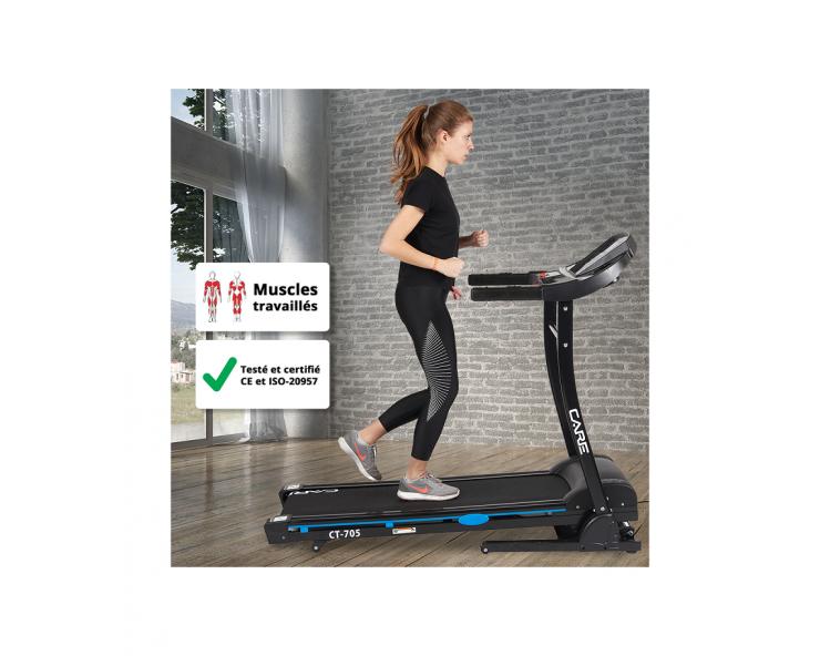 tapis de course care fitness ct705