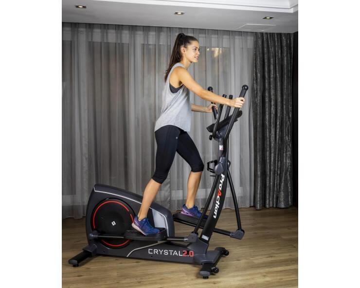 achat velo elliptique connecté bh fitness i crystal 2.0
