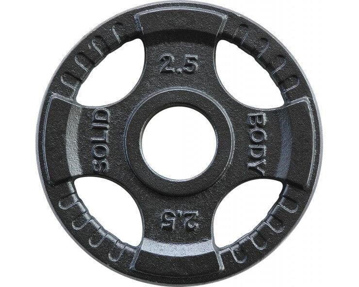 Pack Confirmés de disques olympiques BODY SOLID OPKT (60kg)