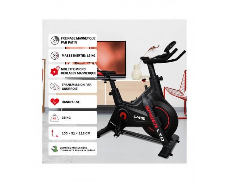 velo biking connecté Spider LTD