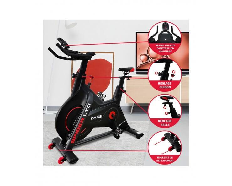 velo appartement biking care fitness spider LTD