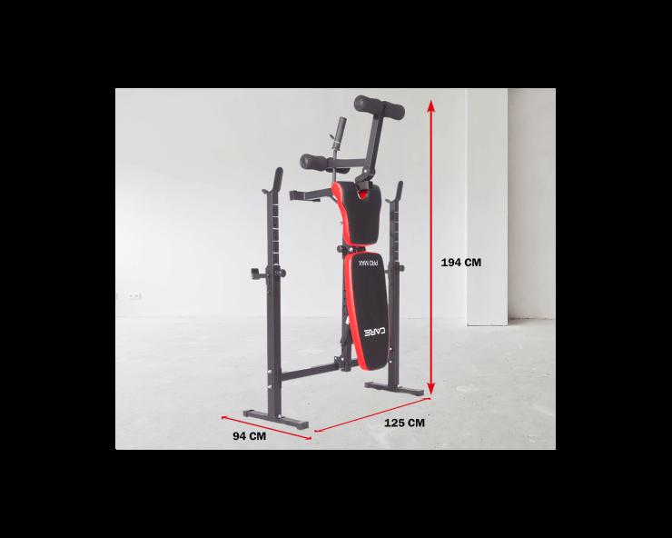 banc de musculation pliable pro max