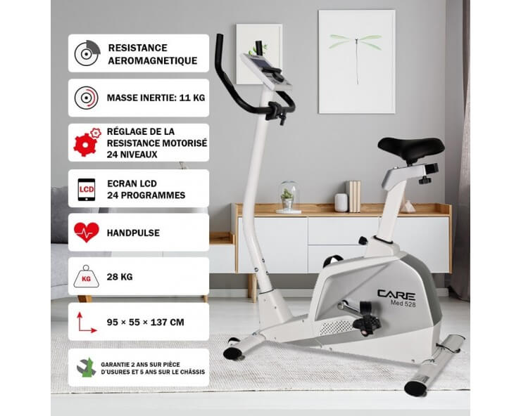 care fitness velo appartement med 528