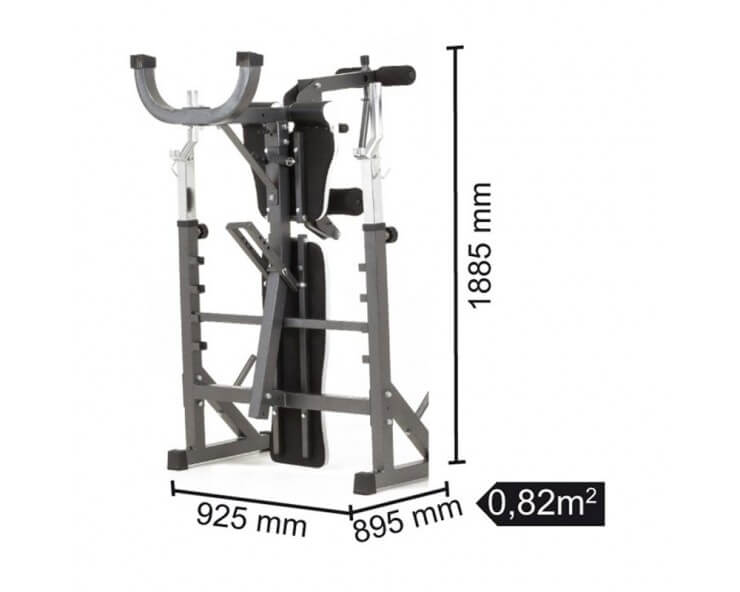 banc musculation complet toorx WBX 90