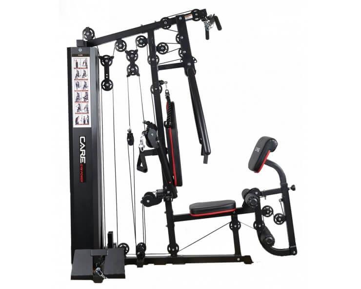 appareil de musculation home gym Presse 257 Care Fitness