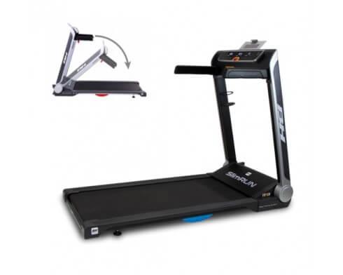 tapis de course pliable compact bh fitness slimrun