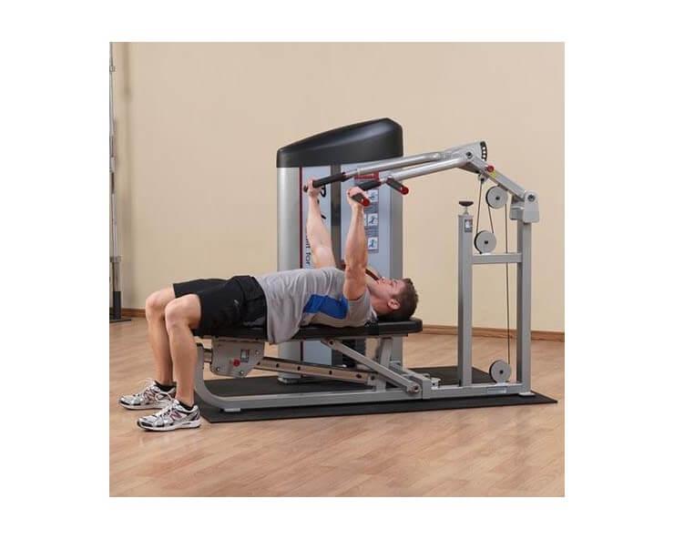 développé couché incliné machine body solid S2MP