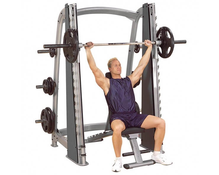 smith machine bodysolid SCB1000