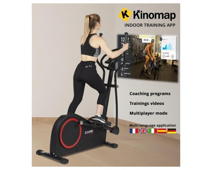 velo elliptique appartement Care Fitness