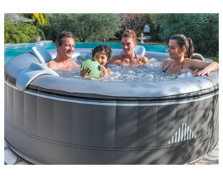 spa rond gonflable malibu 4 places