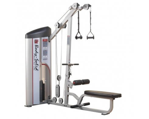 machine musculation dos body solid S2LAT
