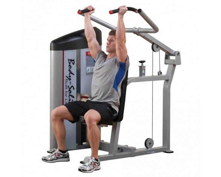 body solid presse épaule S2SP