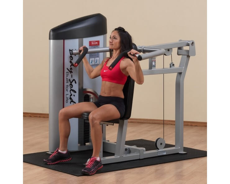 machine epaule body solid pro clubline S2SP