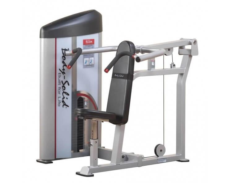 presse épaule body solid S2SP