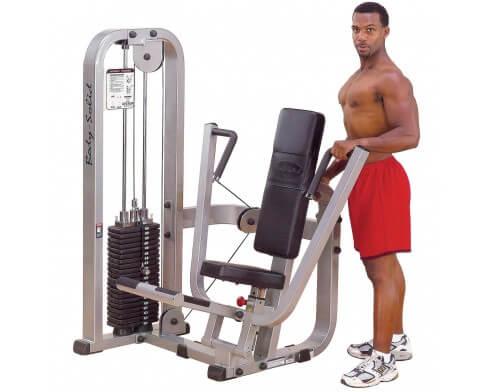 presse poitrine Body Solid Pro Clubline SBP100G