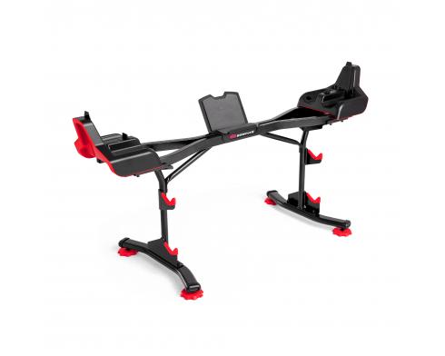 Support Haltère Bowflex SelectTech 2080 avec Rack Media