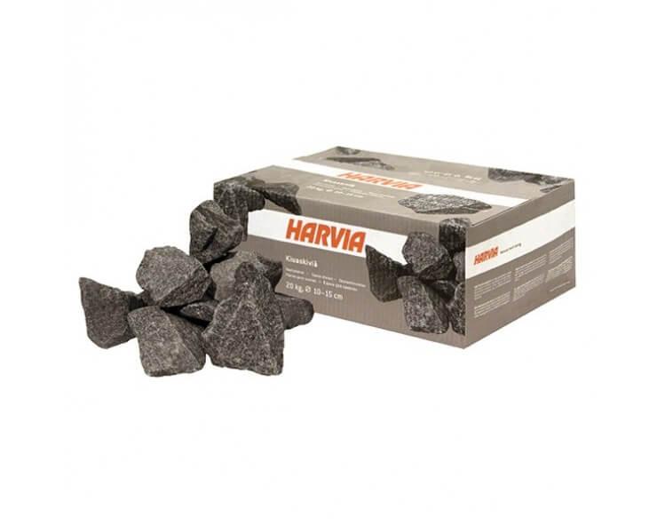 Pierres pour poele sauna Harvia 20kg  Diamètre 10 a 15 cm