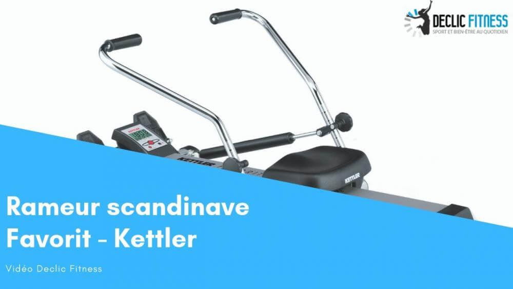 Rameur scandinave Kettler Favorit