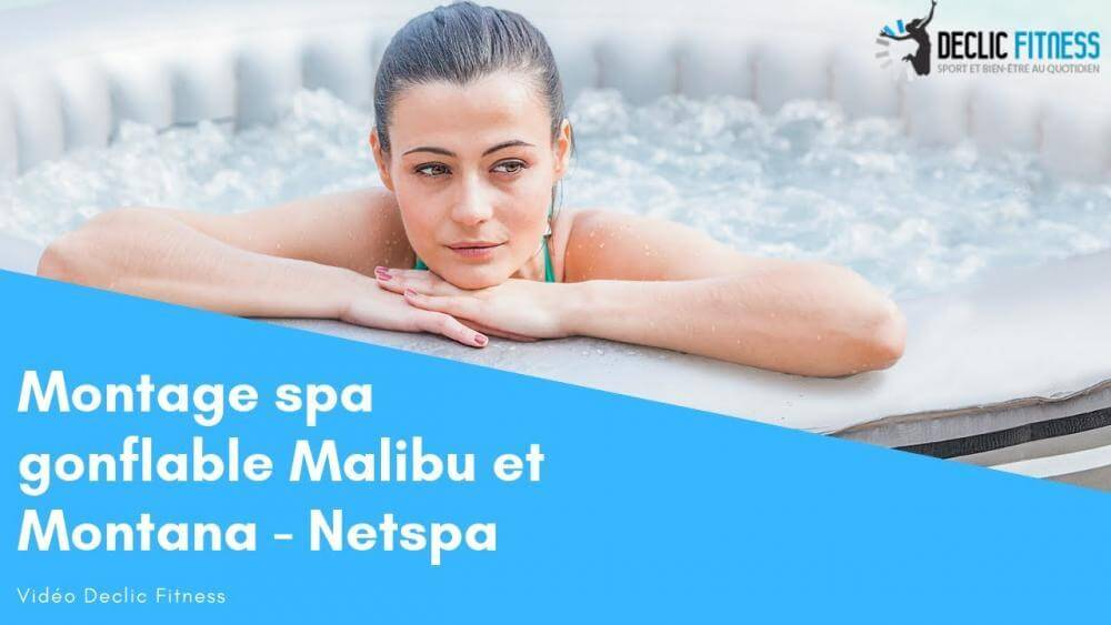 Spa gonflable Netspa Malibu 4 places