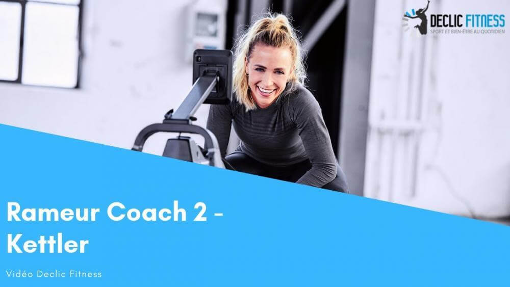 Video rameur Kettler Coach 2