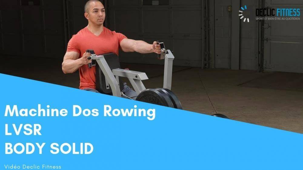 Machine Rowing Body Solid pour dos LVSR