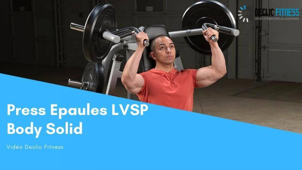 Machine Press Développé Epaules Pro Body Solid LVSP