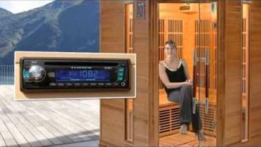 Le sauna infrarouge Luxe 3 à 4 places
