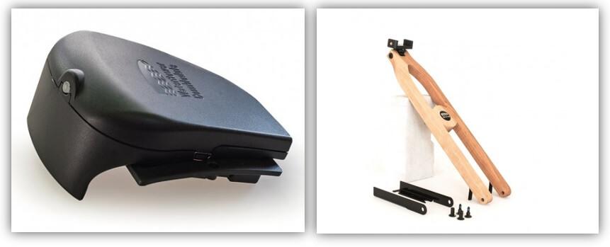 accessoires waterrower offerts sur rameur connecté merisier