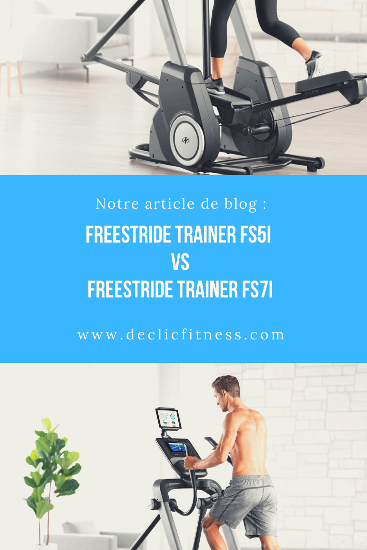 freestride trainer fs5i vs fs7i