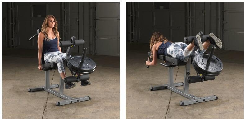 appareil de musculation pour une femme