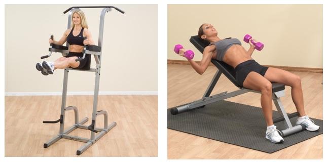 chaise romaine ou banc de musculation