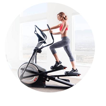 roue inertie velo elliptique