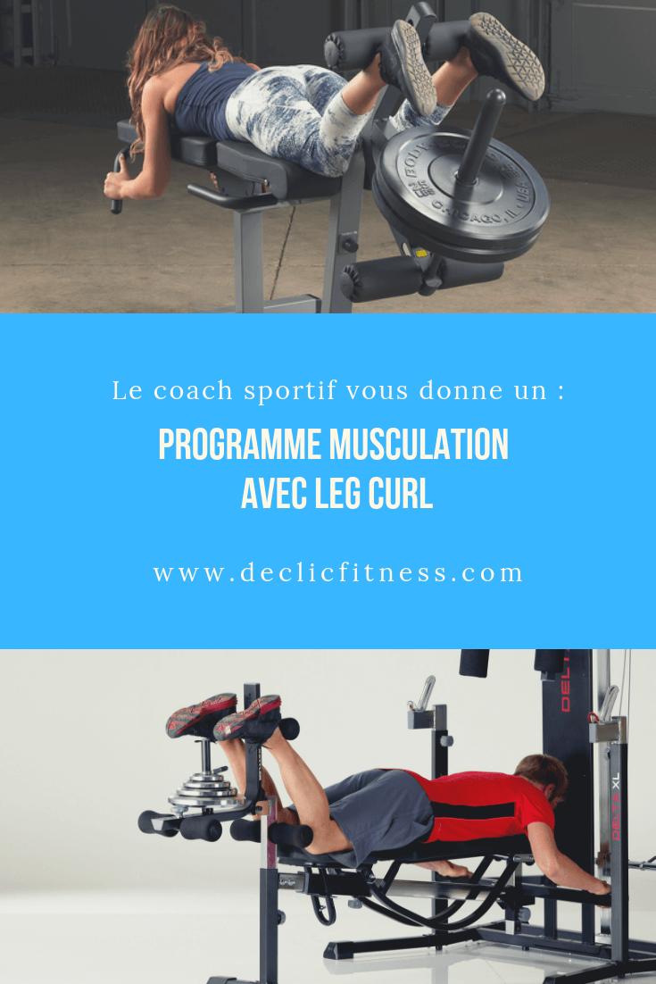 leg curl programme musculation