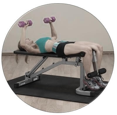 exercice musculation banc