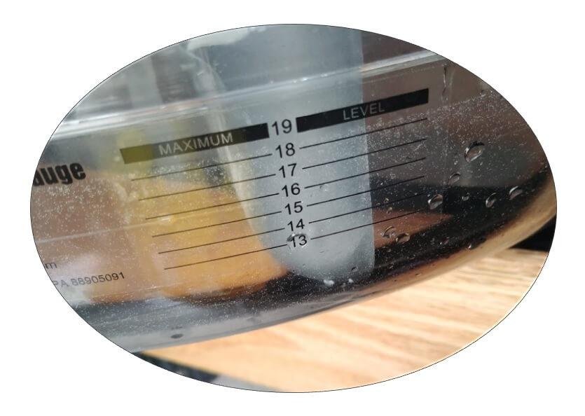 waterrower rameur à eau test