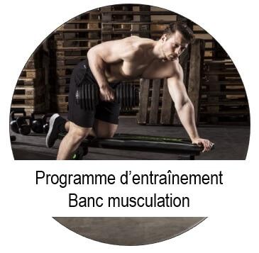 programme pour banc de musculation